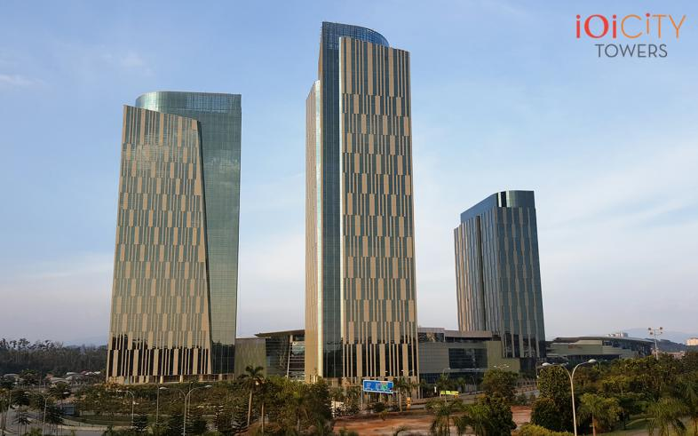 IOI City Towers, Putrajaya office space